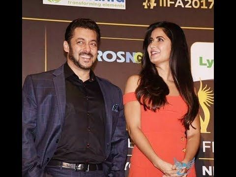 IIFA 2017: WATCH! Salman Khan surprises Katrina Kaif with a Birthday Kiss & sings for her on stage!  Duration: 0:38.