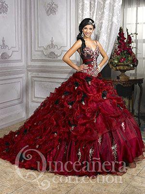 Long dress maroon xv