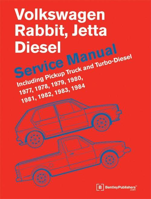 Bentley Repair Manual - VW Mk1 Rabbit/Jetta Diesel 77-84