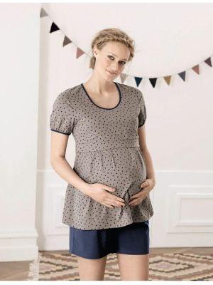 Pidżama ciążowa i do karmienia Fleur 1228 http://maternity24.pl/pl/p/Pizama-ciazowa-i-do-karmienia-Fleur-1228-/1081