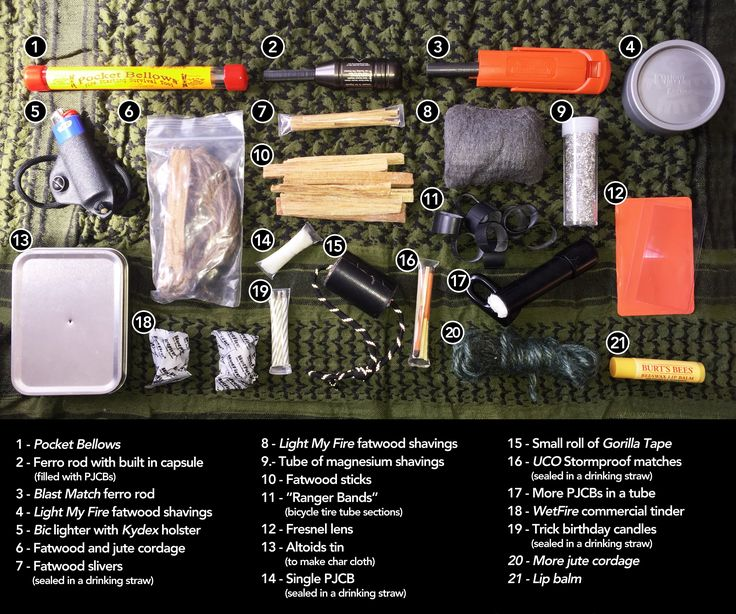 Learn how to make a killer SURVIVAL FIRE KIT like this one today!! Learn all the…