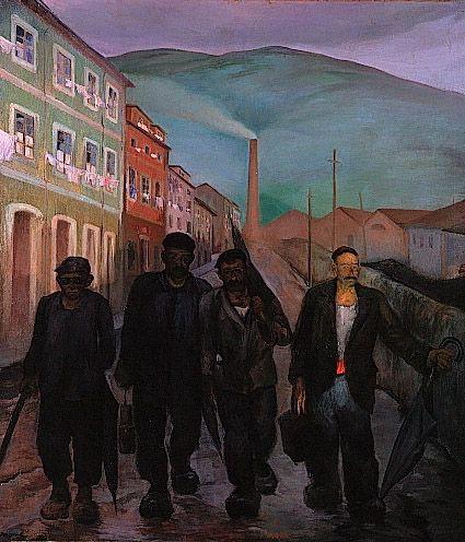"Mariano Moré, ""Mineros asturianos"", 1928"