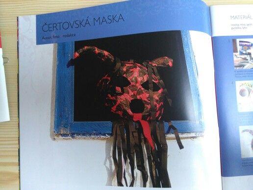 Maska čerta...časopis Amos