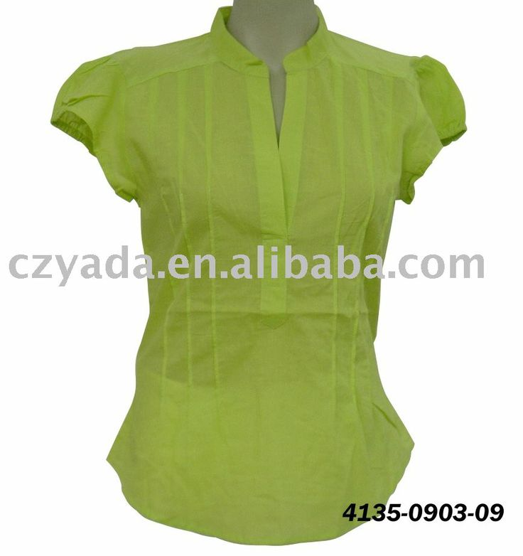 Types Of Women S Tops And Blouses Collars Neck Design Of