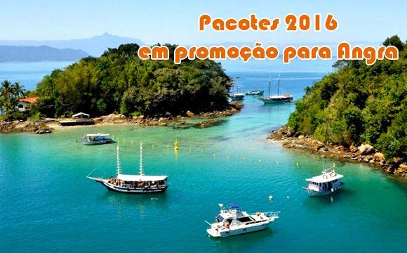 Hospedagem 2016 em Angra dos Reis a partir de R$ 389 #angra #pacotes #viagem #promoção