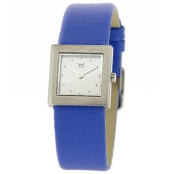 Reloj de mujer cuadrado correa Azul. http://www.tutunca.es/watchcelona