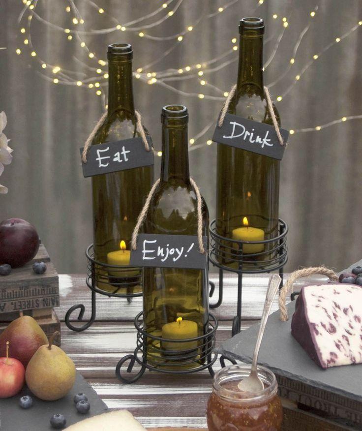 Les 25 meilleures id es de la cat gorie d corer bouteilles for Decoupe verre brico