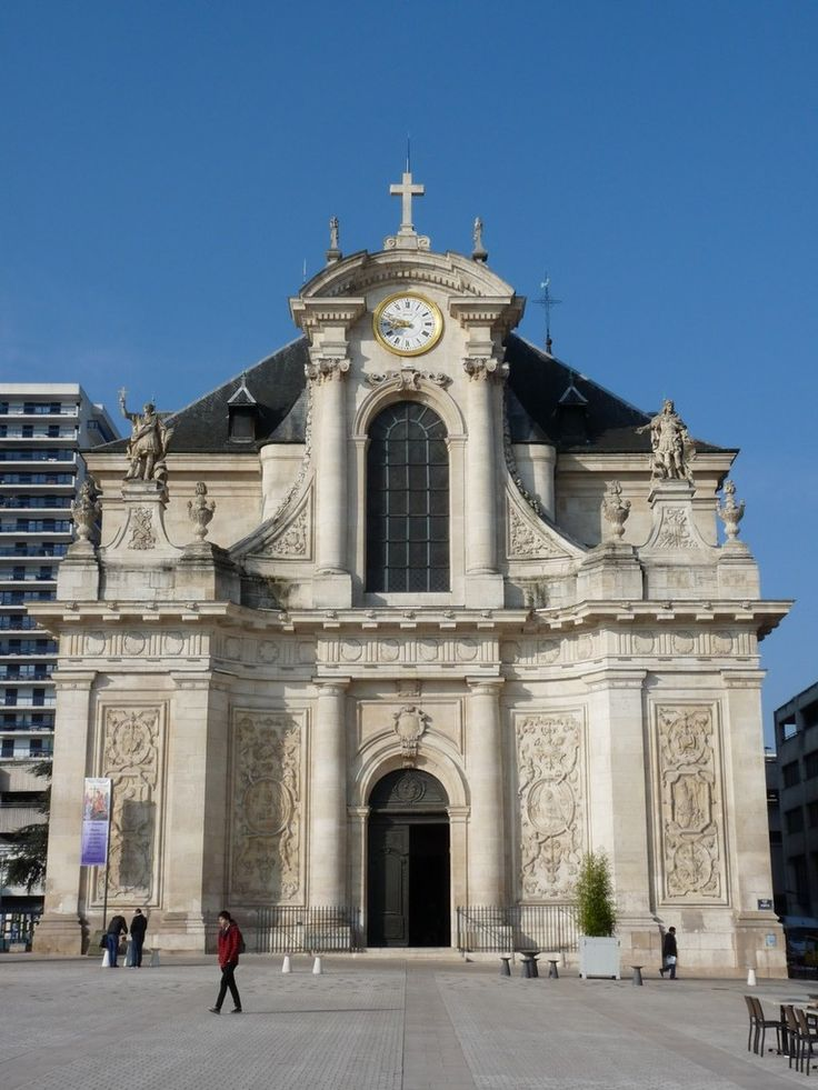 Église Saint-Sébastien. Nancy. Lorraine
