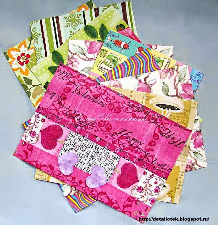 decoupage paper for scrapbooking DIY (Бумага для скрапа своими руками (мастер-класс))