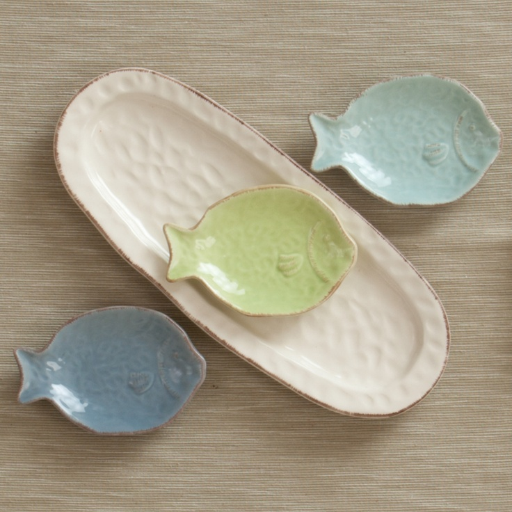 Ceramic Fish Serveware