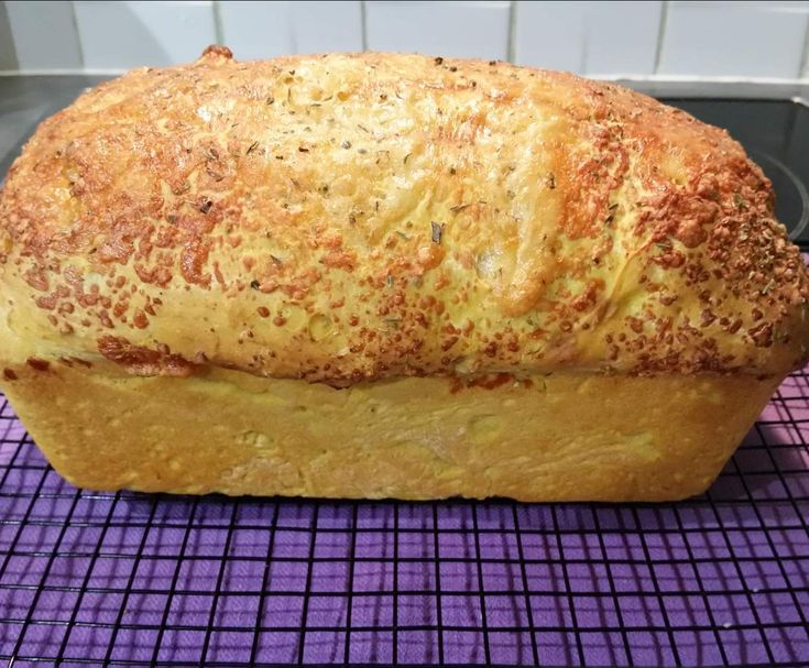 Recipe Pumpkin Bread with Cheese and Herb Top by stinimende - Recipe of category Breads & rolls