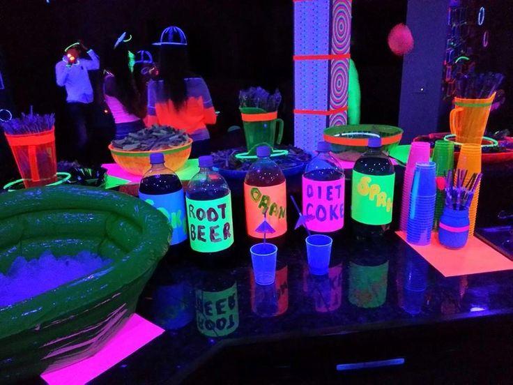 Resultado de imagen para neon party ideas