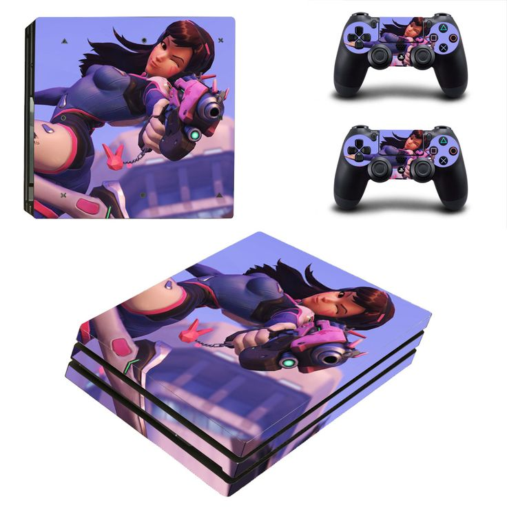 Overwatch Ps4 pro edition skin decal for console and controllers
