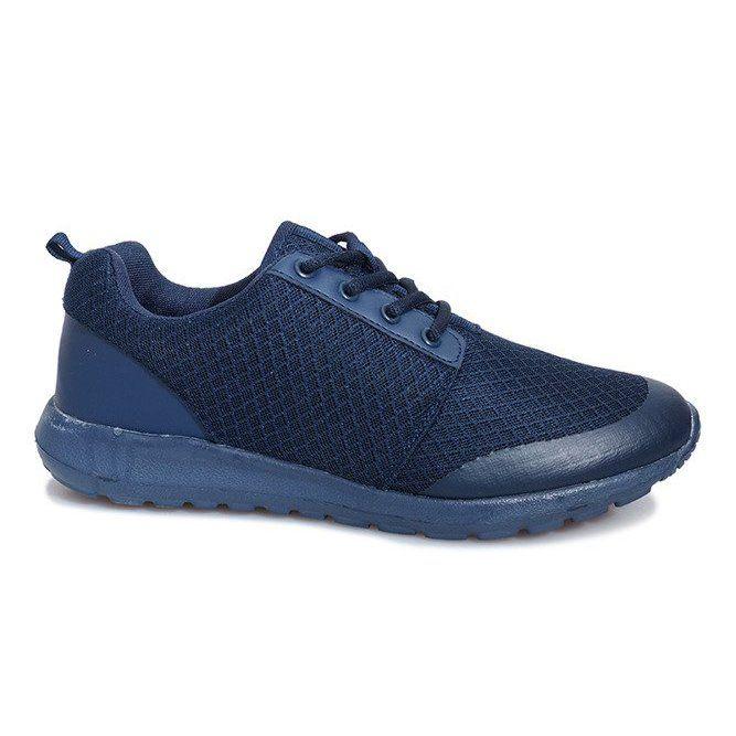 Granatowe Obuwie Sportowe Cosmo Classic All Black Sneakers Black Sneaker Shoes