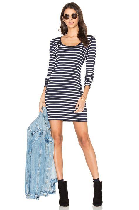 Stripes: the perfect spring staple. #dress by Fifteen Twenty on Revolve