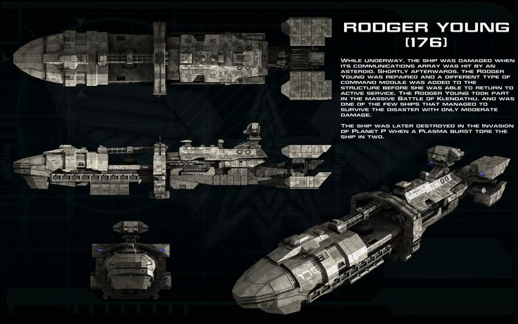 Rodger Young [176] corvette ortho by unusualsuspex.deviantart.com on @deviantART