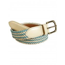 Scotch and Soda Braided Leather Belt