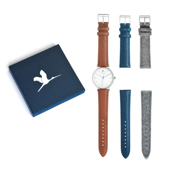 Le coffret Union ~ 1 montre & 3 bracelets