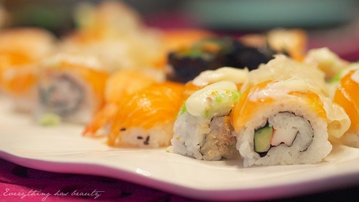 Sushi in Tampere Finland.