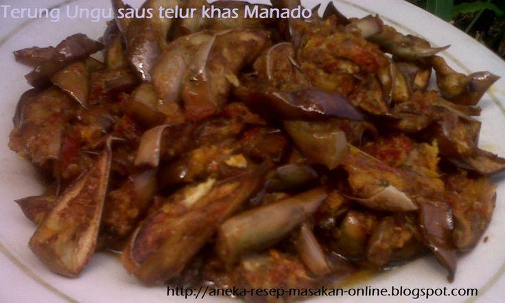 TERUNG UNGU SAUS TELUR  Yuk simak resepnya http://aneka-resep-masakan-online.blogspot.co.id/2015/11/resep-terong-ungu-saos-telur-pedas-ala.html