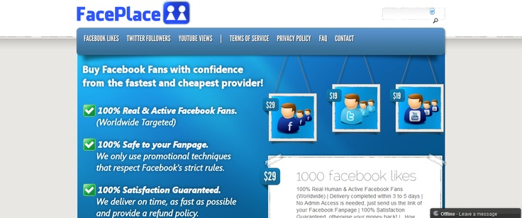 Buy Real Human & Active Facebook Fans Cheap! >> buy facebook fans --> http://www.buyfansnfollowers.com/