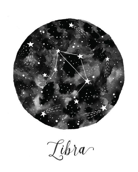 It's Libra season! Illustration by Amy Rogstad