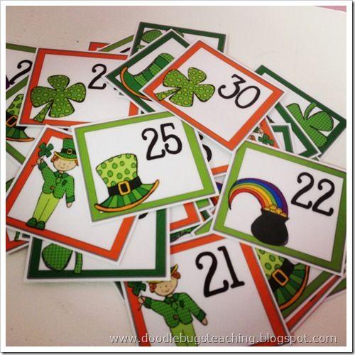 April Calendar Pieces Kindergarten : Best images about st patty s day on pinterest pocket
