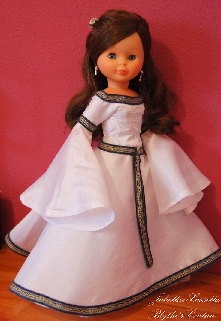 Nancy a medieval bride...