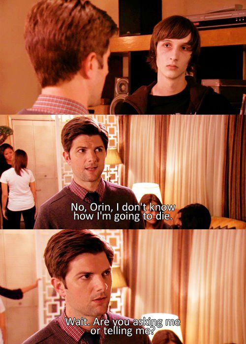 Parks and Recreation: Ben and Orin