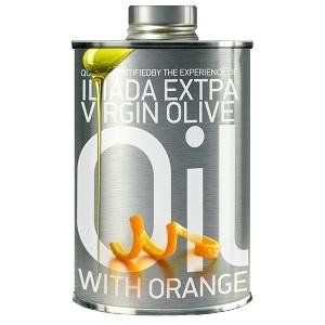 Buy Iliada Extra Virgin Olive Oil-Orange flavour