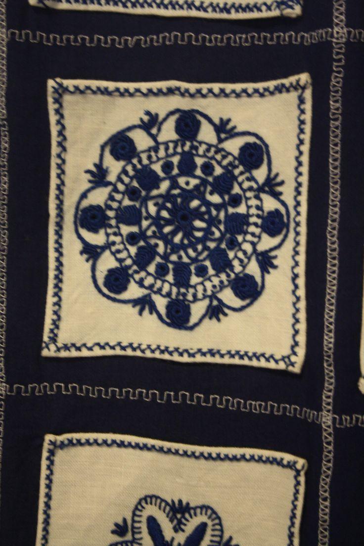 Guimaraes folk embroidery