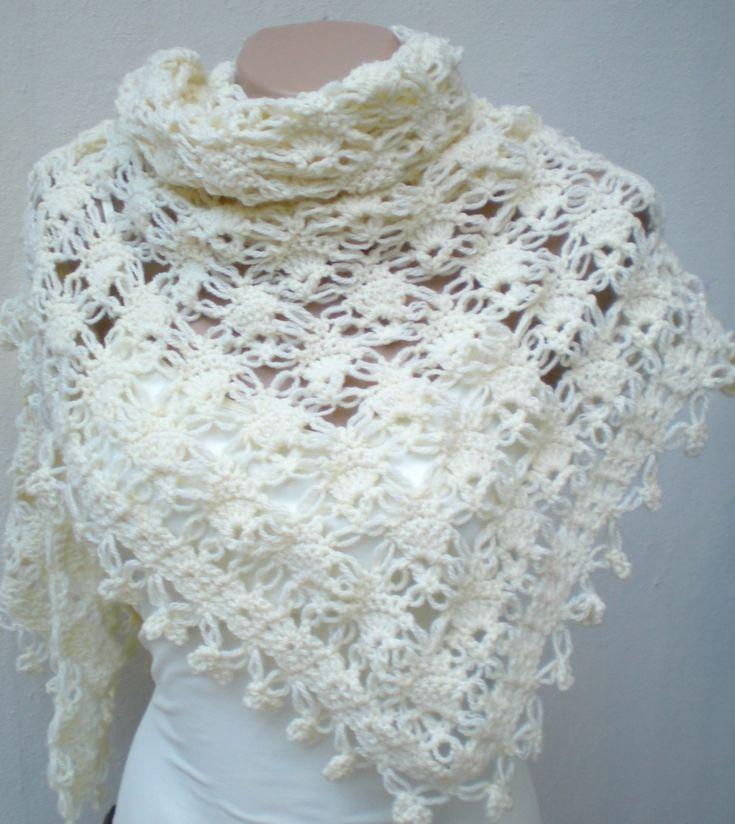 115 Best Ponchos Images On Pinterest Crochet Shawl Crochet