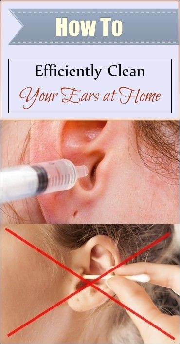 How to Efficiently Clean your Ears at Home