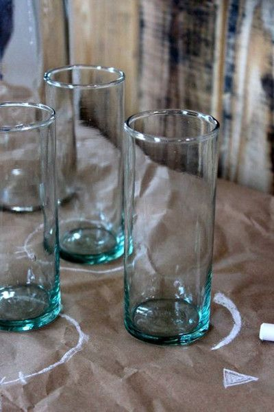 Hand Blown Slim Drinking Glasses Glasses Style Beer
