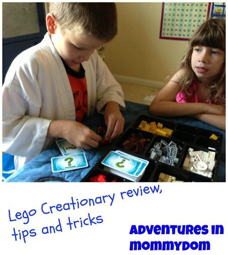 lego creationary review, tips, and tricks, a fun way to encourage creative thinking