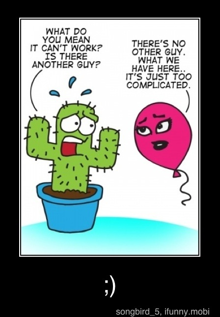 : Balloons Funny, Cactusballoon Relationships, Funny Things, Funny Pics, Funny Pictures, Complicated Relatable, Funny Stuff, Humor, Complicated Relationships