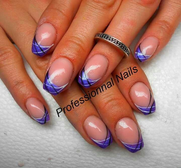 Onglesfrench Gelnails Nail Nails Nailsoftheday Nailart Onglesengel Onglesuv Ongles