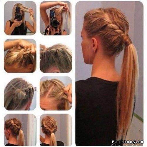 Варианты причесок на длинные тонкие волосы