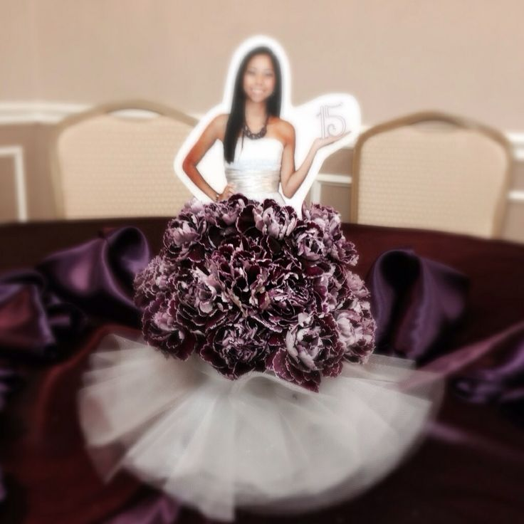 Quinceanera Doll Centerpiece Candys Party Ideas