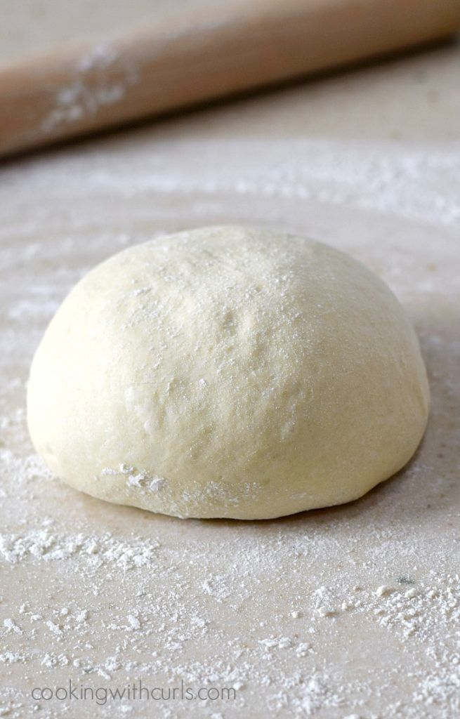 Traditional Italian Pizza Dough made from scratch for the perfect light and airy pizza   cookingwithcurls.com
