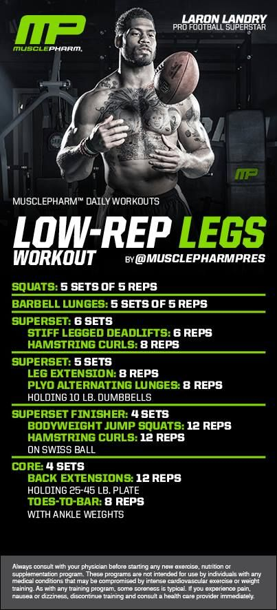 Low Rep Legs! #musclepharm workout