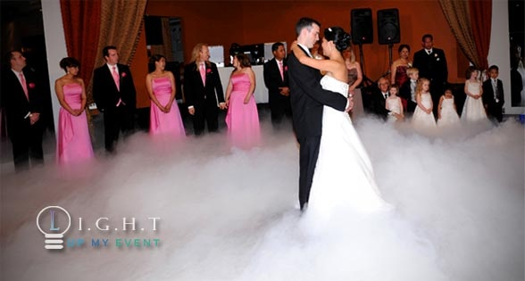 Dance on a cloud for your first dance
