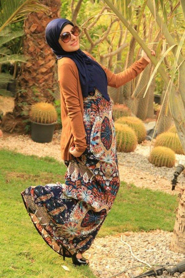 hijab maxi dress 9