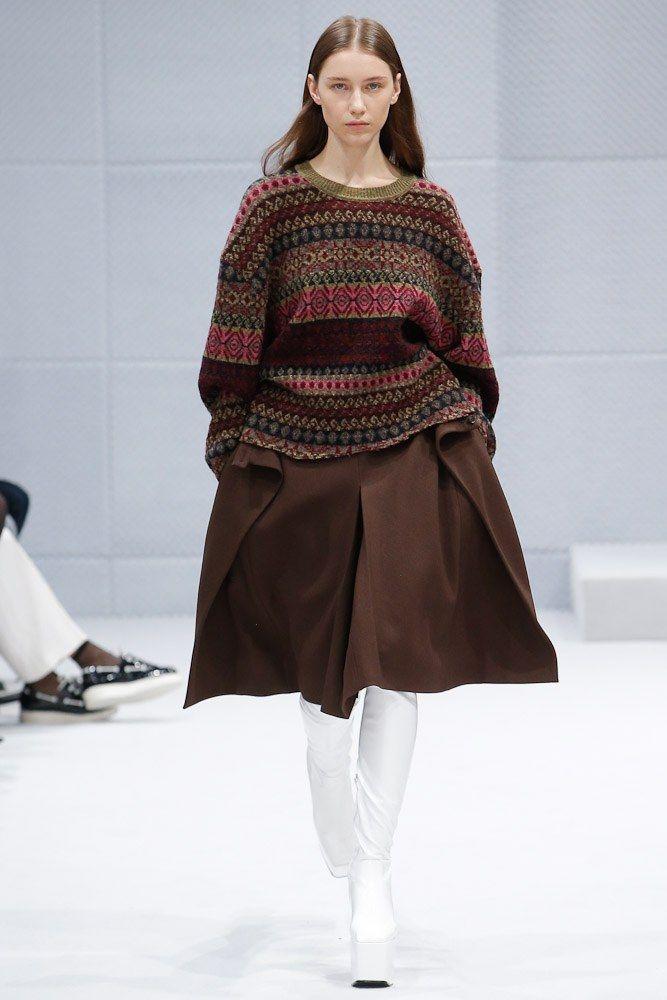 Vogue Knitting Winter 2016 : Balenciaga fall ready to wear fashion show