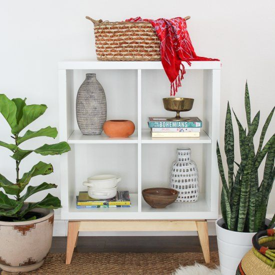 Take a look at this great hack using an inexpensive IKEA KALAX. I love the…