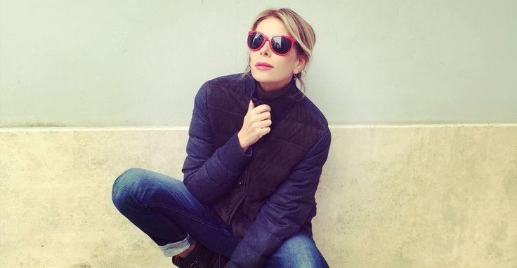 Il post di oggi è dedicato tutto a mio marito Paolo... dopo magliette e camicie adesso gli rubo anche le giacche... Emoticon smile #Look #maschiaccio #MarksandAngels #bag #giaccapiumino http://www.lapinella.com/2016/02/24/look-da-vero-maschiaccio/