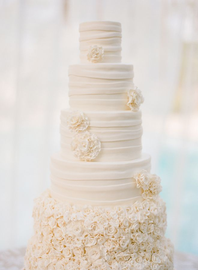 Wedding Cake With White Roses Best Images About Cakes On