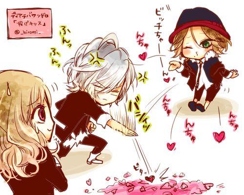 anime chibi cute diabolik lovers dialovers kawaii laito pixiv id 263917 pixiv member  hiromi
