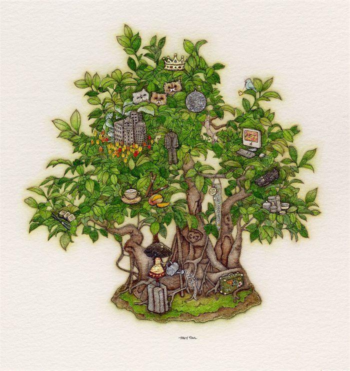 Jonathan's Birthday Bonsai Tree by Tracy Paul