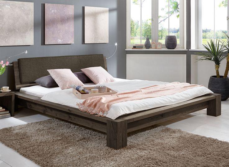 Massivholz Bett aus geölter Wildeiche z.B. 180x200 - Domingo